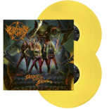 BURNING WITCHES - Dance With The Devil YELLOW VINYL (Import)