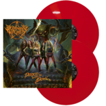 BURNING WITCHES - Dance With The Devil RED VINYL (Import)