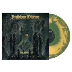INSIDIOUS DISEASE - After Death (Olive/Mustard Swirl Vinyl)
