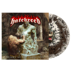 HATEBREED - Weight Of The False Self (Bne/Brn Swirl w/Spatter)
