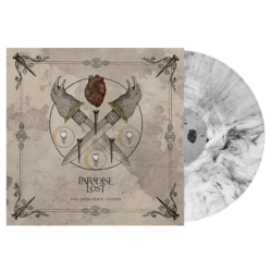 PARADISE LOST Fall From.../Ghosts WHT/BLK MARBLED VINYL (Import)