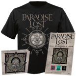 PARADISE LOST - Obsidian (CD+Shirt Bundle) Small
