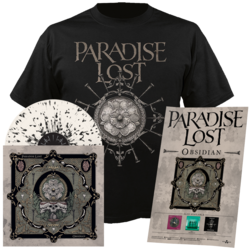 PARADISE LOST - Obsidian (LP+Shirt Bundle) Small
