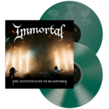 IMMORTAL - The Seventh Date Of Blashyrkh GREEN VINYL (Import)