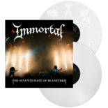 IMMORTAL - The Seventh Date Of Blashyrkh WHITE VINYL (Import)