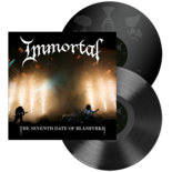IMMORTAL - The Seventh Date Of Blashyrkh BLACK VINYL (Import)
