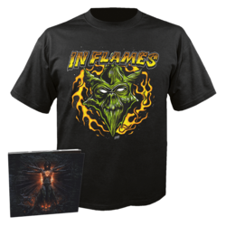 IN FLAMES - Clayman (CD+Shirt Bundle) 2X-Large