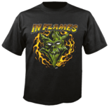 IN FLAMES - Jester Head TS