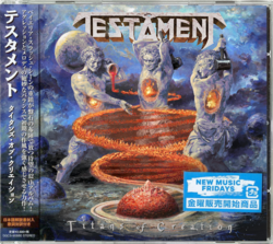TESTAMENT Titans Of Creation (2 CD Japanese Import)