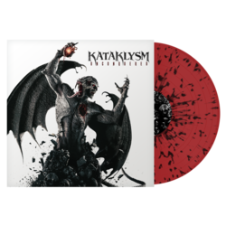 KATAKLYSM - Unconquered (Red w/Black Splatter Vinyl)