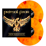 PRIMAL FEAR - New Religion ORANGE/RED MARBLED VINYL (Import)