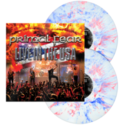 PRIMAL FEAR - Live In The USA RED/WHITE/BLUE MARBLED LP (Import)