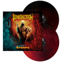 BENEDICTION - Scriptures (Red/Black Swirl Vinyl)