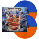 TESTAMENT - Titans Of Creation (Orange/Blue half/half Vinyl)