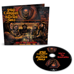 PHIL CAMPBELL AND THE BASTARD SONS - We're The Bastards DIGIPAK (Import)