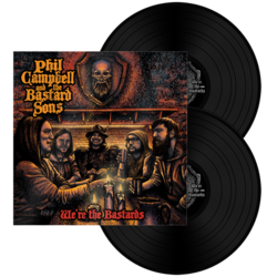 PHIL CAMPBELL AND THE BASTARD SONS - We're The Bastards BLACK VINYL (Import)