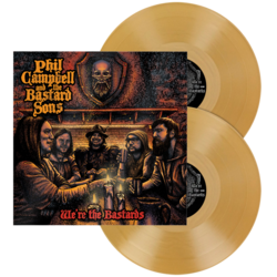 PHIL CAMPBELL AND THE BASTARD SONS - We're The Bastards GOLD VINYL (Import)