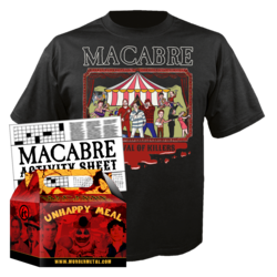 MACABRE - Carnival of Killers (Unhappy Meal #3) XXLarge