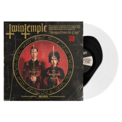 TWIN TEMPLE - Stripped From The Crypt (Clear wBlk Blood Pool)