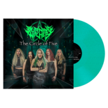 BURNING WITCHES - The Circle Of Five MINT PEARL VINYL (Import)