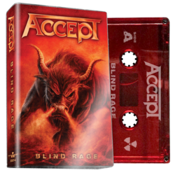 ACCEPT - Blind Rage (Red Cassette)
