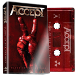 ACCEPT - Blood Of The Nations (Red Cassette)