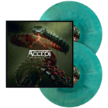 ACCEPT - Too Mean To Die BLUE/GREEN SWIRL VINYL (Import)