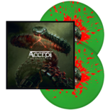 ACCEPT - Too Mean To Die GREEN/RED SPLATTER VINYL (Import)