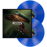 ACCEPT - Too Mean To Die TRANSPARENT BLUE VINYL (Import)