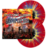 PRIMAL FEAR - Live In The USA RED/YELLOW/BLUE SPLATTER VINYL