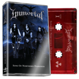 IMMORTAL - Sons Of Northern Darkness (Red Cassette)
