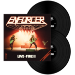 ENFORCER - Live By Fire II BLACK VINYL (Import)