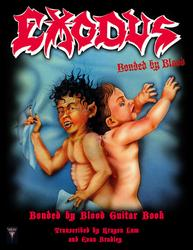 EXODUS - Bonded By Blood (Deluxe Guitar Book)