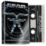 FEAR FACTORY - Aggression Continuum (Clear Cassette)
