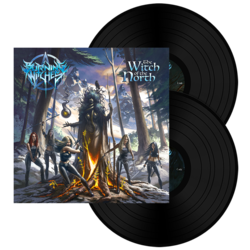 BURNING WITCHES - The Witch Of The North BLACK VINYL (Import)