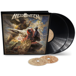 HELLOWEEN - Helloween BLACK VINYL EARBOOK (Import)