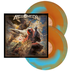 HELLOWEEN - Helloween LIGHT BLUE/ORANGE INKSPOT VINYL (Import)
