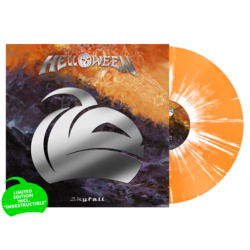 HELLOWEEN - Skyfall (Indestructable..)ORANGE/WHITE SPLAT (Impo