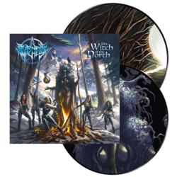 BURNING WITCHES - The Witch Of The North PICTURE VINYL (NEW DESIGN)