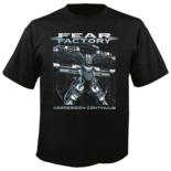 FEAR FACTORY - Aggression Continuum TS