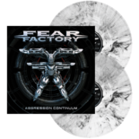 FEAR FACTORY - Aggression Continuum MARBLED VINYL (Import)