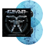 FEAR FACTORY - Aggression Continuum CURACAO/BLACK MARBLED VINYL