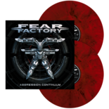 FEAR FACTORY - Aggression continuum RED/BLK MARBLED LP'S (Import)