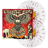 EARTHLESS - From The Ages (Clear with Dark Red Splatter)