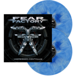 FEAR FACTORY - Aggression Continuum BLU/WHT MARBLED (Import)