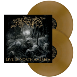 SUFFOCATION - Live in North America GOLD VINYL (Import)